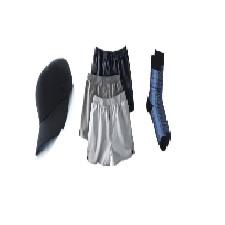 Cravates-Ceintures-Bas-Boxers-Chapeaux-Pyjamas